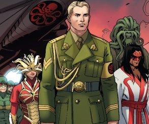Что лидер Гидры Капитан Америка сказал, выступая вООН?