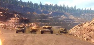 Armored Warfare: Проект Армата. Карта Урановый рудник