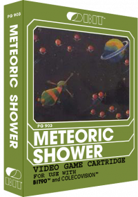 Обложка Meteoric Shower
