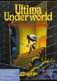 Обложка Ultima Underworld: The Stygian Abyss