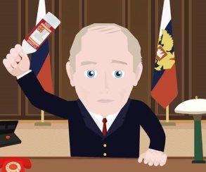 Apple запретила игру, в которой Путин разбивает головой бутылки водки