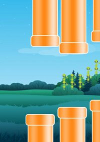 Flying Saucer Pro: A Tiny UFO's Flappy Adventure in Gravity – фото обложки игры