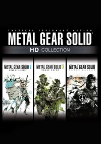 Обложка Metal Gear Solid HD Collection