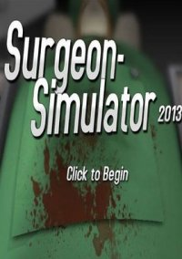 Обложка Surgeon Simulator 2013