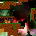 Скриншот Gene - run & jump platformer – Изображение 2