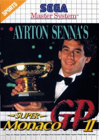 Обложка Ayrton Senna's Super Monaco GP II