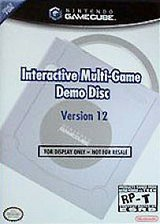 Обложка Interactive Multi-Game Demo Disc Version 12
