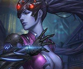 Косплей дня: Роковая вдова из Overwatch