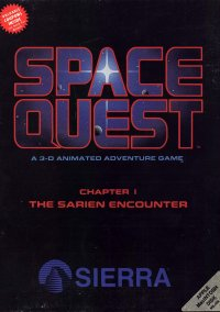 Обложка Space Quest: The Sarien Encounter