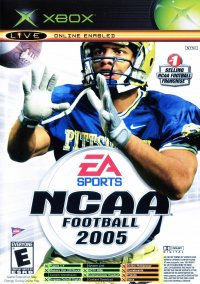 Обложка NCAA Football 2005 / Top Spin Combo