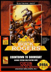 Обложка Buck Rogers: Countdown to Doomsday
