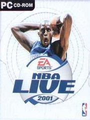Обложка NBA Live 2001