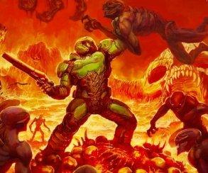 Забавные раскраски оружия и солдат на новых скриншотах из беты Doom