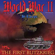 Обложка World War II: The First Blitzkrieg
