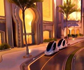 На новой карте на PTR Overwatch вас собьет автомобиль