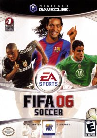 Обложка FIFA Soccer 06