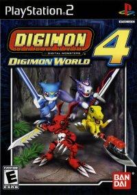 Обложка Digimon World 4