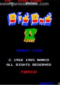 Обложка Dig Dug II