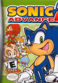 Обложка Sonic Advance 2