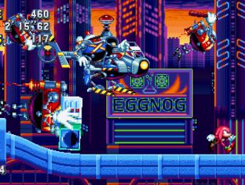 Sonic Mania. Релизный трейлер