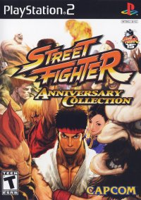 Обложка Street Fighter Anniversary Collection
