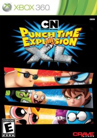 Cartoon Network: Punch Time Explosion XL – фото обложки игры