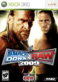 Обложка WWE SmackDown! vs. RAW 2009