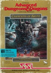 Обложка DragonLance Vol. 1: Champions of Krynn