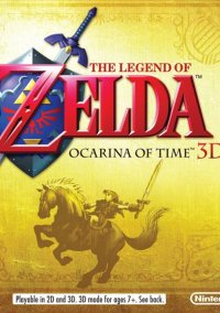 The Legend of Zelda: Ocarina of Time 3D – фото обложки игры