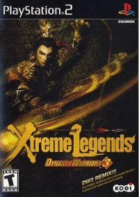 Обложка Dynasty Warriors 3: Xtreme Legends