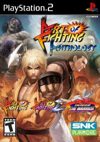 Обложка Art of Fighting Anthology
