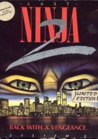 Обложка Last Ninja 2