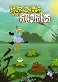 Обложка Frogs vs Storks