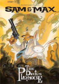 Обложка Sam & Max: The Devil's Playhouse Episode 2: The Tomb of Sammun-Mak