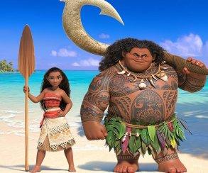 Скала показал первый постер мультфильма «Моана» и пообещал трейлер