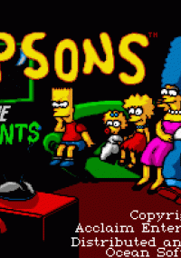 Обложка The Simpsons: Bart Simpson vs. the Space Mutants