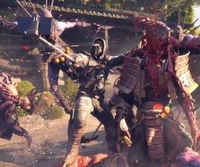 Ниндзя ссэлфи-палками убивают монстров бензопилами вShadow Warrior2