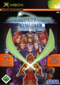 Обложка Phantasy Star Online Episode I & II