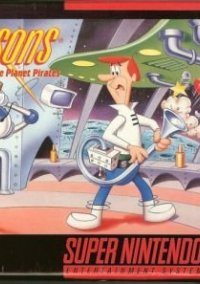 Обложка The Jetsons: Invasion of the Planet Pirates