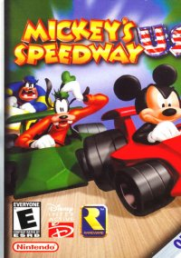 Обложка Mickey's Speedway USA