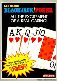 Обложка Ken Uston's Blackjack/Poker