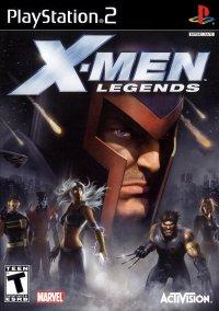 Обложка X-Men Legends