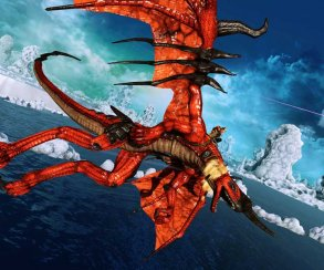 Появились новые скриншоты Crimson Dragon