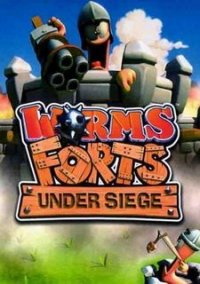 Обложка Worms Forts: Under Siege!
