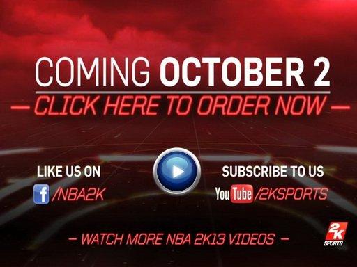 NBA 2K13. Дневники разработчиков