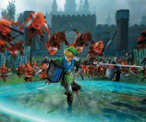Линк выносит толпы врагов на кадрах из Hyrule Warriors