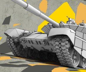 «Проект Армата» украсит фасады домов танками ко Дню Победы