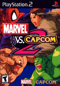 Обложка Marvel vs. Capcom 2: New Age of Heroes
