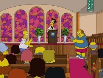 Гомер ловит покемонов прямо вцеркви вновом эпизоде «Симпсонов»