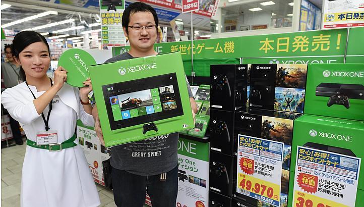 Японцы купили за неделю 782 консолей Xbox One - Изображение 1